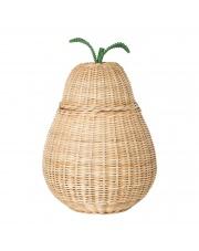Kosz pleciony GRUSZKA / Pear Basket - ferm LIVING