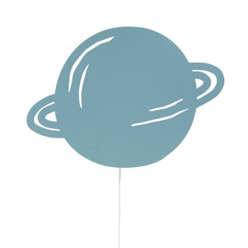 Fotografia, na której jest Lampka PLANETA - niebieska - ferm LIVING