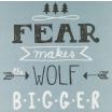 Fotografia, na której jest Plakat A3 The Wolf