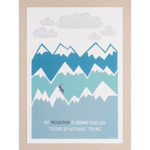 Fotografia, na której jest Plakat A3 Himalaya