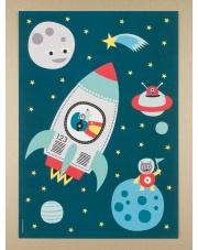 Plakat A3 Raketti