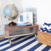 Fotografia, na której jest Wełniany dywan HAMPTON - White Oaks