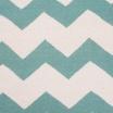 Fotografia, na której jest Wełniany dywan CHEVRON MINT - White Oaks