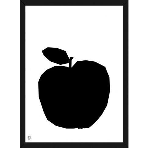 Fotografia, na której jest Plakat Owoc Jabłko - Kinkallo