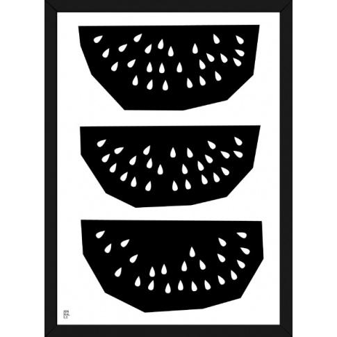 Fotografia, na której jest Plakat Owoc Arbuzy - Kinkallo