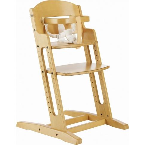 Fotografia, na której jest Krzesełko do karmienia Baby Dan DANCHAIR naturalne