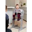 Fotografia, na której jest Krzesełko do karmienia Baby Dan DANCHAIR szare