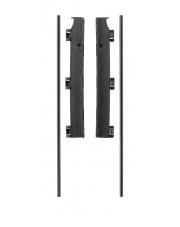 Baby Dan - Uchwyt montażowy do ściany do bramek FLEX M, L, XL, XXL, czarny