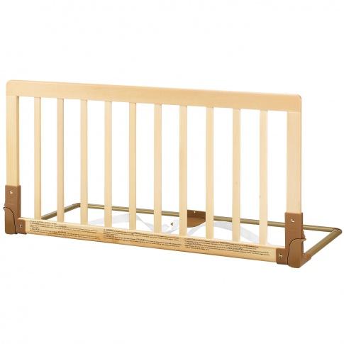 Fotografia, na której jest Baby Dan - Drewniana barierka ochronna łóżka