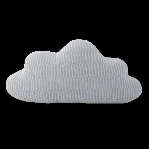 Fotografia, na której jest Poduszka niebieska chmurka - Bloomingville