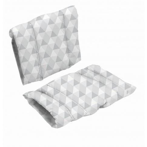 Fotografia, na której jest Poduszka do krzesła DanChair - HARMONY - szary