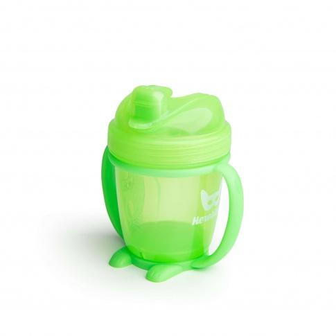 Fotografia, na której jest Herobility – kubek niekapek HeroSippy 140 ml, zielony