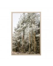 Obrazek w ramie skandynawski LAS (40x60) - Bloomingville