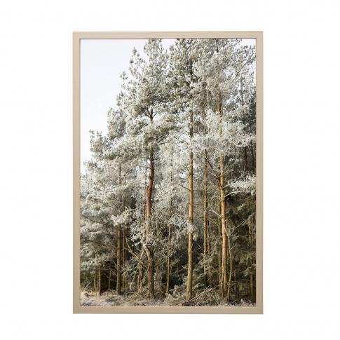 Fotografia, na której jest Obrazek w ramie skandynawski LAS (40x60) - Bloomingville