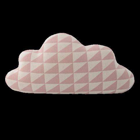 Fotografia, na której jest Poduszka różowa chmurka - Bloomingville