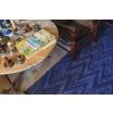 Fotografia, na której jest Dywan do prania w pralce EARTH ALASKA BLUE - Lorena Canals