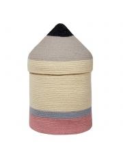 Kosz na zabawki bawełniany Pencil / Ołówek - Lorena Canals