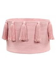 Kosz bawełniany z chwostami Tassels - różne kolory - Lorena Canals