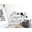 Fotografia, na której jest GÓRY | naklejka do pokoju dziecięcego - różne kolory - Pastelowelove