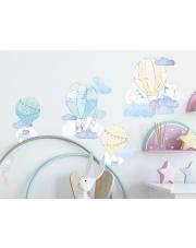 BALONY | naklejka do pokoju dziecięcego - różne kolory - Pastelowelove