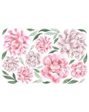 PIWONIE | naklejka do pokoju dziecięcego - różne kolory - Pastelowelove