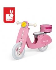 Rowerek biegowy różowy Scooter Mademoiselle, Janod