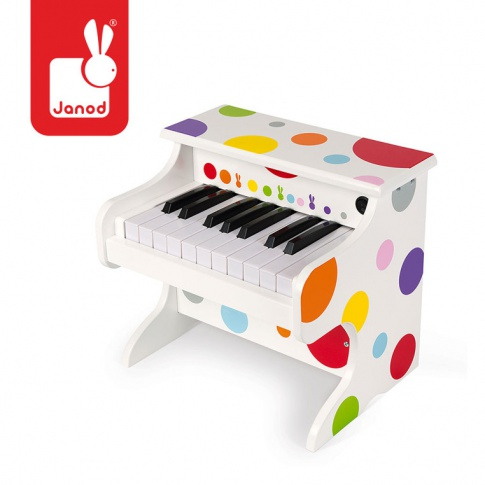 Fotografia, na której jest Elektroniczne pianino Confetti, Janod