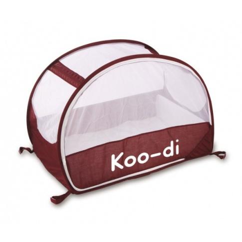 Fotografia, na której jest Łóżeczko turystyczne Koo-di Pop Up Bubble Cot - Aubergine