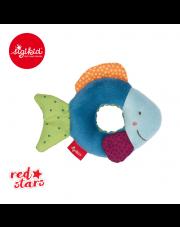 SIGIKID Miękka mini – grzechotka Rybka Red Stars