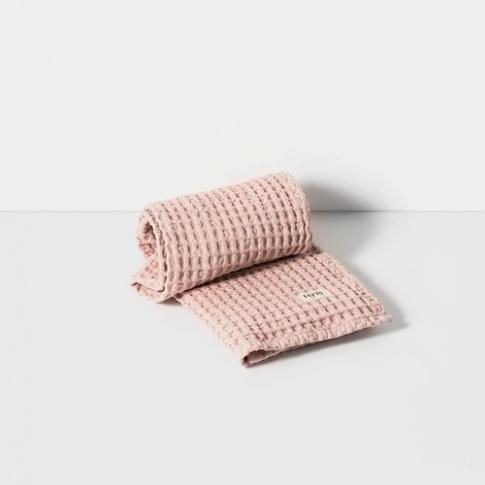 Fotografia, na której jest Ręcznik do rąk - różowy - ferm LIVING