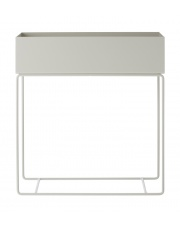 Kwietnik PLANT BOX - light grey | jasnoszary - ferm LIVING