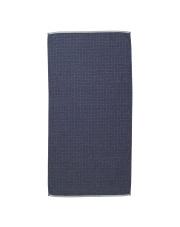 Ręcznik bawełniany SENTO - niebieski - ferm LIVING