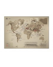 Mapa Zdrapka - Mapa Świata - Kuluar
