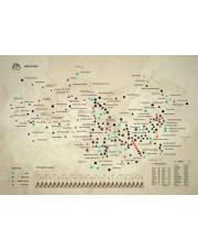 Mapa Zdrapka - Tatry Wysokie- Kuluar