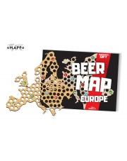 Mapa Piwosza - Europa - oMAPPo