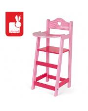 Krzesełko do karmienia dla lalek Mademoiselle, Janod