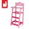 Fotografia, na której jest Krzesełko do karmienia dla lalek Mademoiselle, Janod