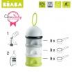 Fotografia, na której jest Beaba Zestaw Bib'expresso® Ekspres do mleka 3w1 neon z pojemnikiem na mleko w proszku neon - OFERTA LIMITOWANA