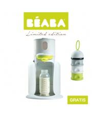 Beaba Zestaw Bib'expresso® Ekspres do mleka 3w1 neon z pojemnikiem na mleko w proszku neon - OFERTA LIMITOWANA
