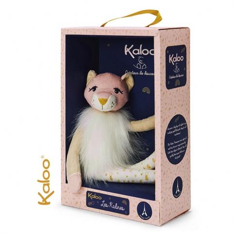 Fotografia, na której jest Kaloo Lwica Leana 35 cm w pudełku kolekcja Les Kalines