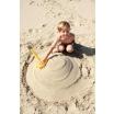 Fotografia, na której jest Wielofunkcyjna łopatka do piasku Triplet Quut - Calypso Pink