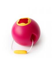 Wiaderko do wody i piasku Ballo Quut - Calypso Pink + Mellow Yellow