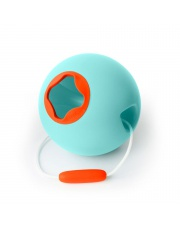 Wiaderko do wody i piasku Ballo Quut - Vintage Blue + Mighty Orange