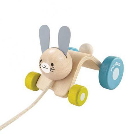 Fotografia, na której jest Króliczek do ciągnięcia, Plan Toys®