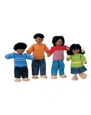 Rodzina ciemnoskórych lalek, do domku dla lalek, Plan Toys®