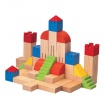 Fotografia, na której jest Drewniane klocki kreatywne, Plan Toys®
