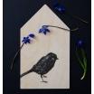 Fotografia, na której jest Deska do krojenia SINGLE BIRD - Miiko