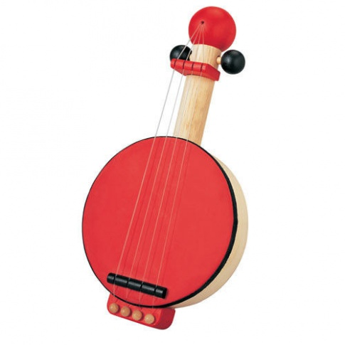 Fotografia, na której jest Drewniane banjo, zabawka muzyczna, Plan Toys®
