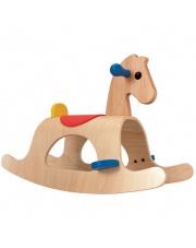 Drewniany konik na biegunach Palomino, Plan Toys®