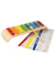 Metalowy ksylofon Melody, zabawka muzyczna Plan Toys®